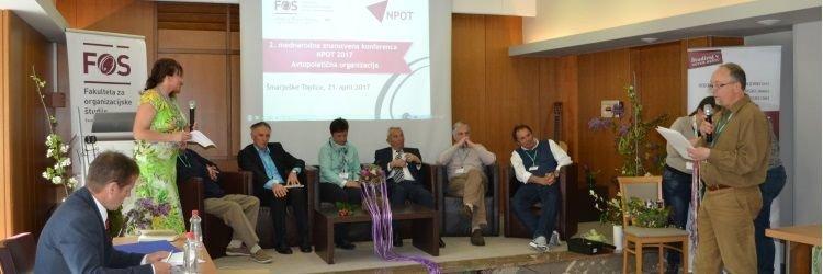 Utrinki 2. mednarodne konference NPOT 2017 >>